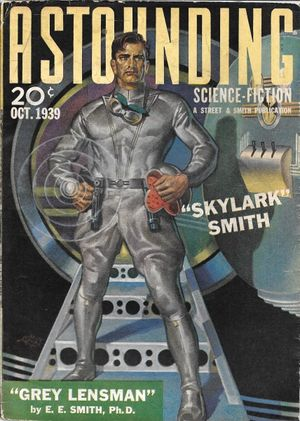 Gray Lensman (magazine cover) - Astounding Oct 1939