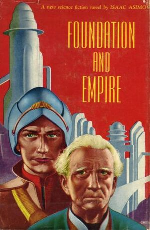Foundation and Empire (cover) Gnome Press