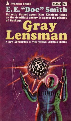 Gray Lensman (cover)
